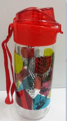 Garrafa para agua 500 ml Vermelho