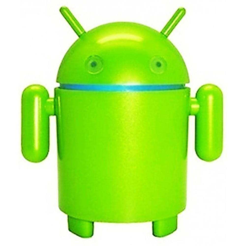 Caixa de Som Formato Android  Verde