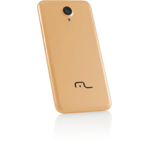 Multilaser Ms50 Nb237 8gb 4g 1gb Ram Gold Bateria 2.200mah