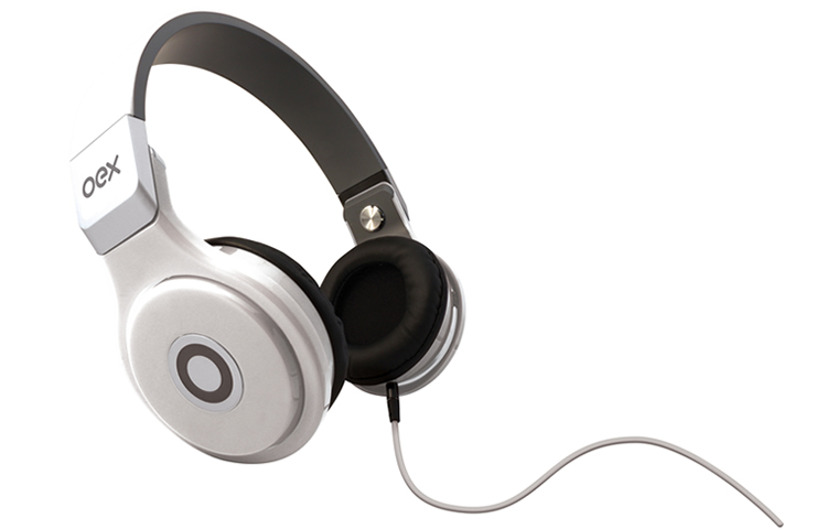 Fone de Ouvido Oex Headphone Groove Branco Hp102