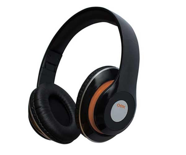 Headphone Balance OEX Bluetooth HS 301 Com Microfone Preto
