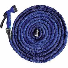 Mangueira Mágica Elástica Expansível 15mt 7 Tipos Jato Azul