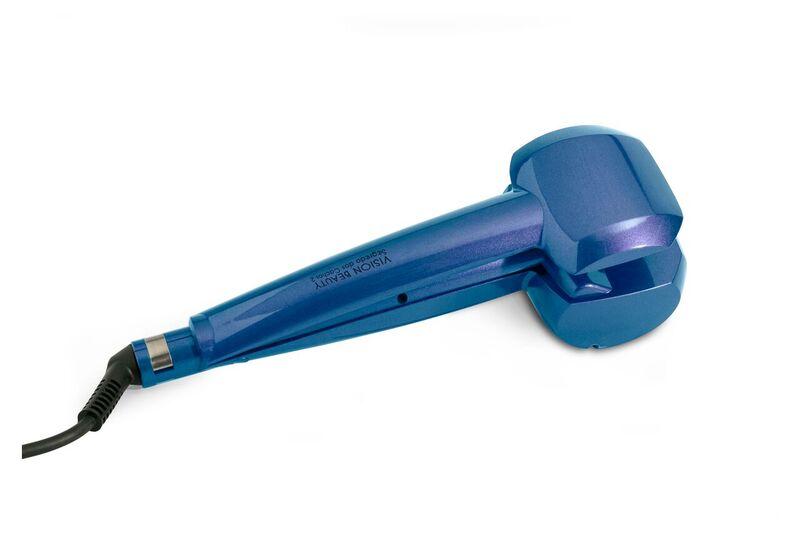 Modelador de Cachos Automático Segredo Dos Cachos 2 AZUL By Ticiane Pinheiro - Vision Beauty