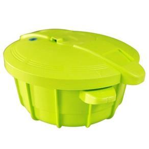 Panela de Pressao para Micro-ondas Vizio Easy Cooker - 2,5 L Verde