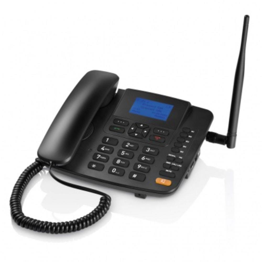 Telefone Celular de Mesa Dual Multilaser RE502 Desbloqueado Preto