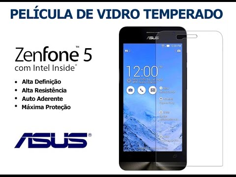 Pelicula de vidro Asus Zenfone 5