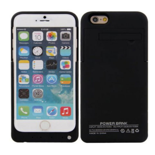 Capa Bateria 8000mAh Iphone 6 4.7´ Ultra Slim Preto