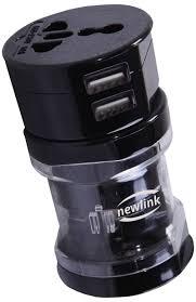 Adaptador Universal Newlink Ad103 Preto