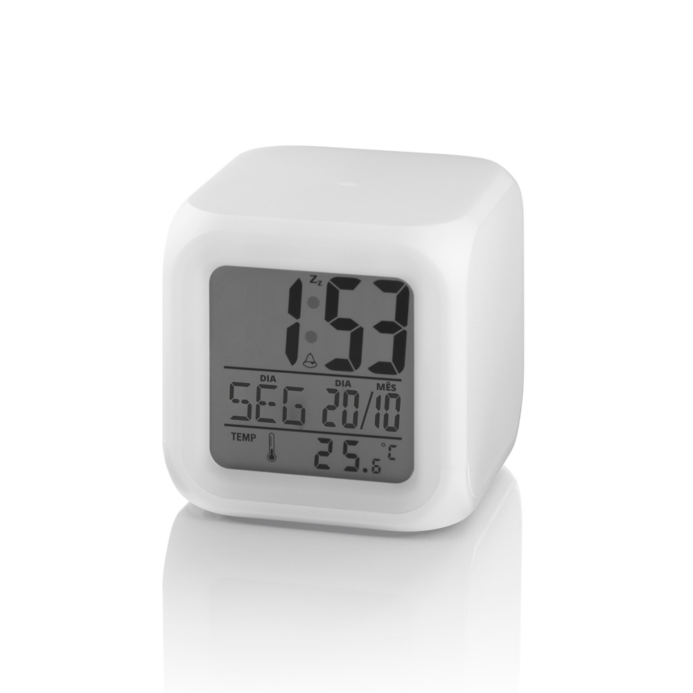 Relógio Luz Noturna Color Fun Multikids Baby Multilaser BB165
