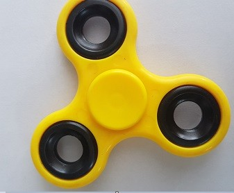 Fidget Hand Spinner Com Inmetro Amarelo