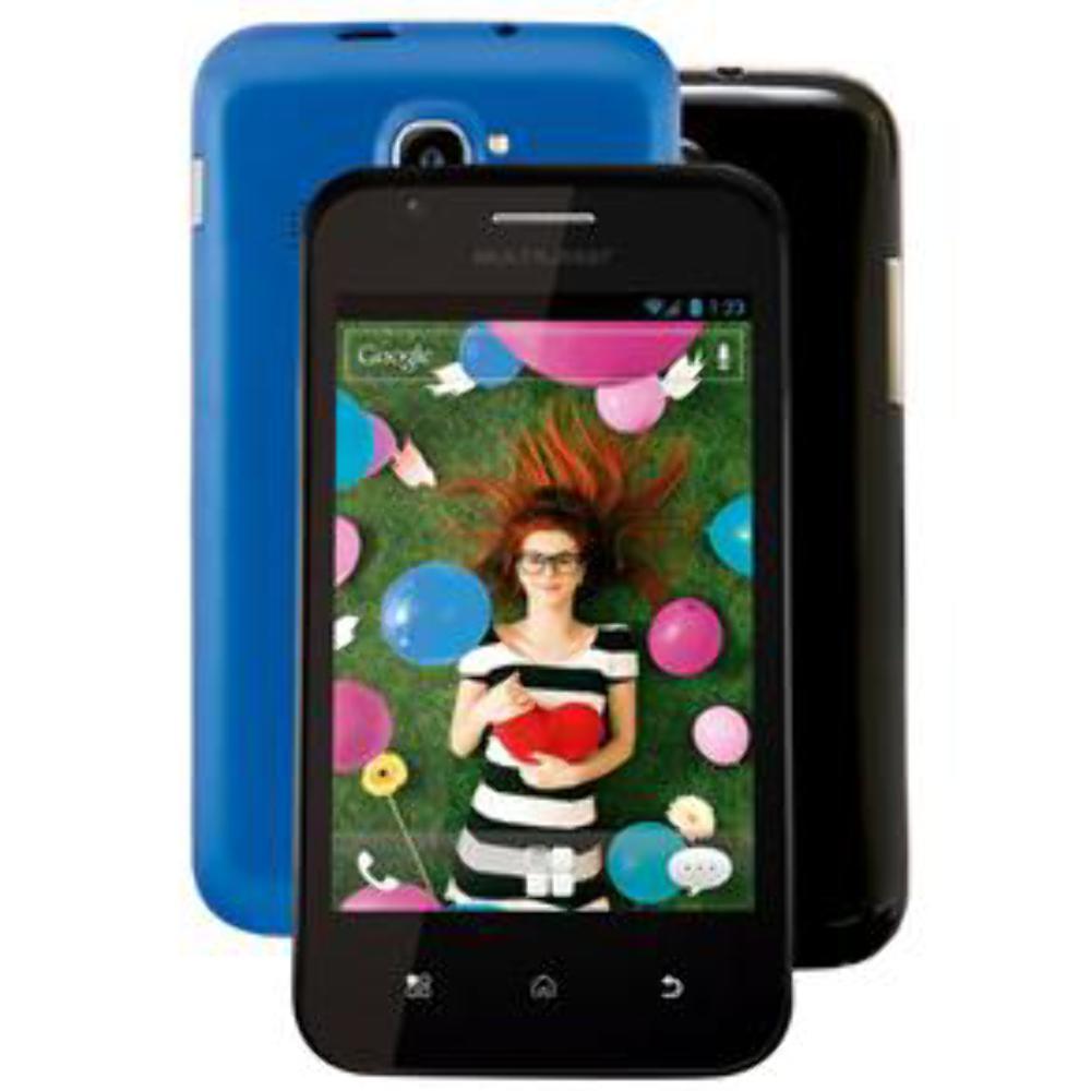 Smartphone Multilaser Trend Dual Preto com Dual Chip, Tela 4 Android 2.3, Câmera 2MP, Wi-Fi, 3G, Bluetooth, Processador Single Core 1.0 GHz