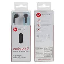 Fone De Ouvido Motorola Earbuds 2 - Preto