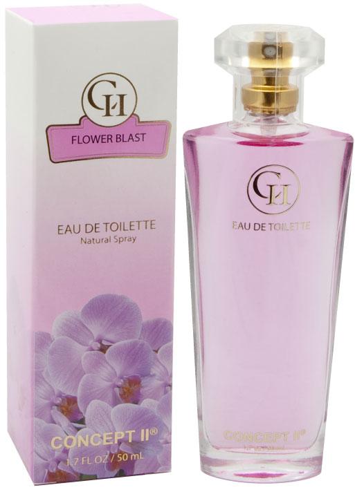 Perfume  explosão de flores EDT 50 ML Concept II