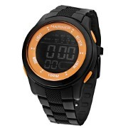 Relógio feminino digital mariner GV/8Q  Preto