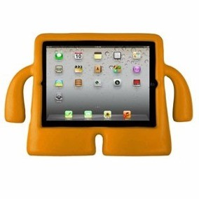 Capa Case Iguy Tablet Apple Ipad Mini 2/3/4 Shock Laranja
