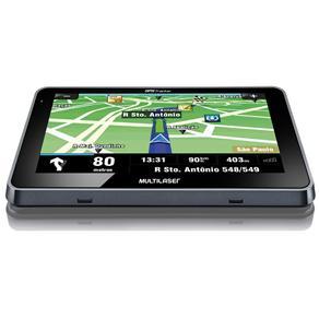 Navegador GPS Multilaser 4,3´ com Alerta de Radar + Mapas 3D GP033