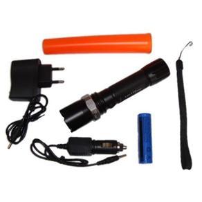 Lanterna Tática Policial Ultra Forte com Sinalizador
