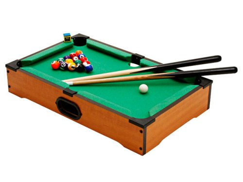 Jogo Mini Bilhar Sinuca Snooker em Madeira