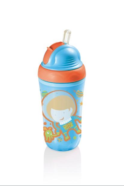 Copo Térmico com Canudo Infantil - Multikids Baby BB034