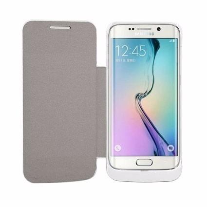 Capa Carregadora Samsung S6 E S6 Edge Branca Gbmax