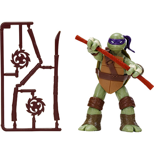 Boneco de Ação Tartarugas Ninja 12cm Donatello Multikids BR030