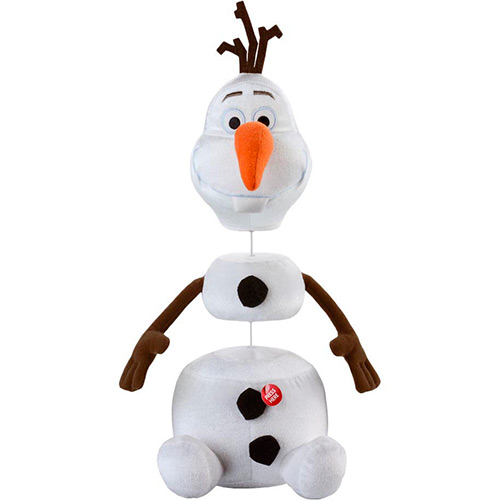 Pelucia Frozen Olaf Com Frases Multikids Br276