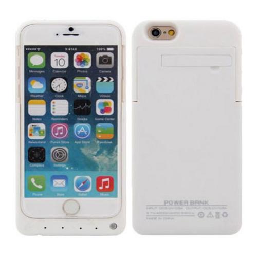 Capa Bateria 8000mAh Iphone 6 5.5´ Plus Ultra Slim Branca