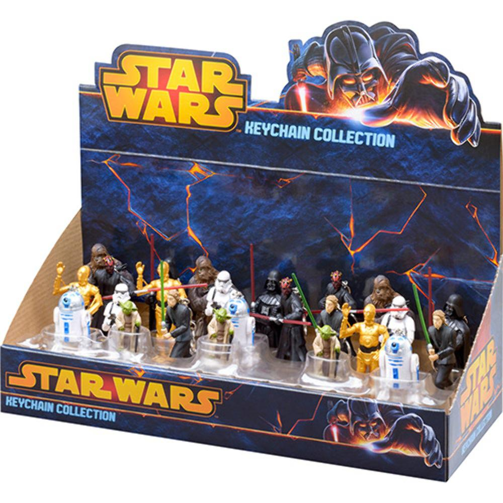 Chaveiros Star Wars 24 Peças Multikids BR349
