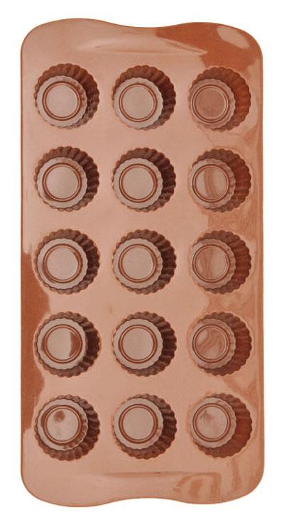 Forma De Silicone Para Chocolate Alpino Eco-552