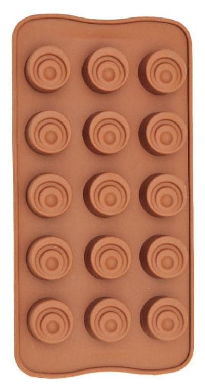 Forma De Silicone Para Chocolate Tradicional Eco-558