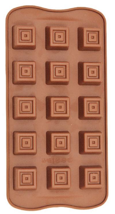 Forma De Silicone Para Chocolate Tradicional Eco-557