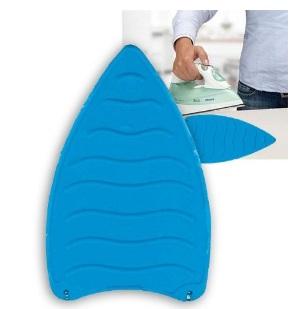 Base Para Ferro Em Silicone Azul Inova