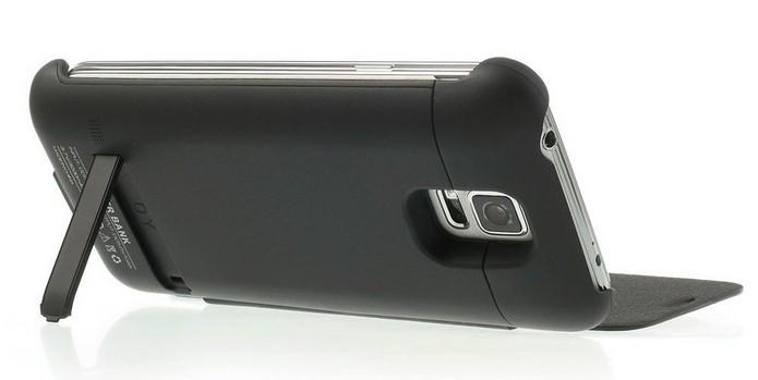 Capa carregadora Galaxy S6 Edge preta + Película de vidro