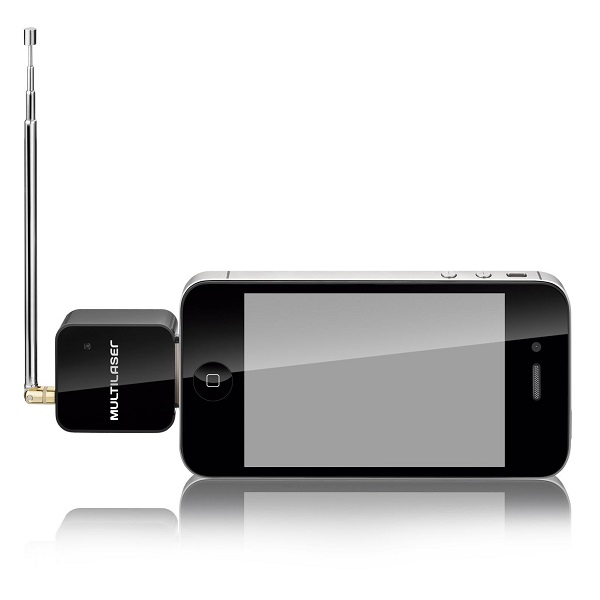 Receptor De Tv Digital Multilaser Para iPhone iPod iPad - Tv006