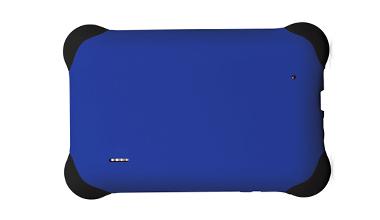 Case de borracha para tablet 7 polegadas Universal Azul