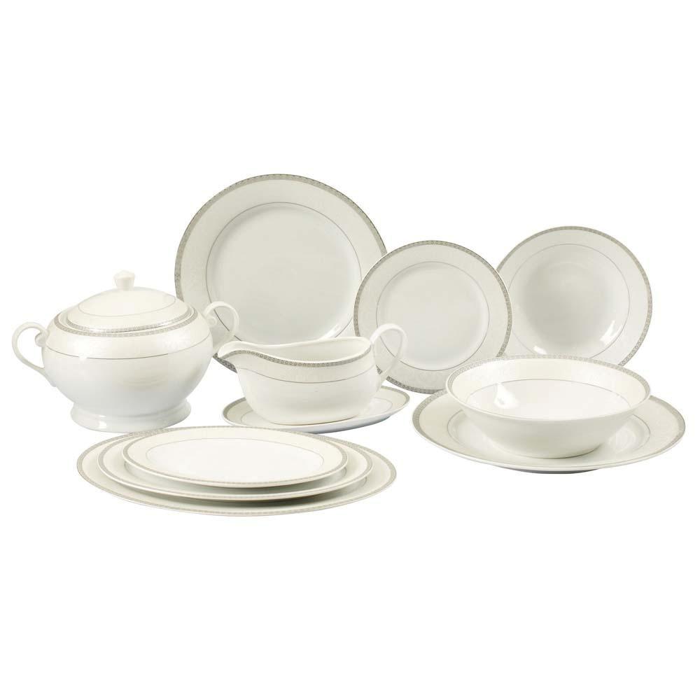 Aparelho de Jantar Casambiente 45 Peças Elite APJA011