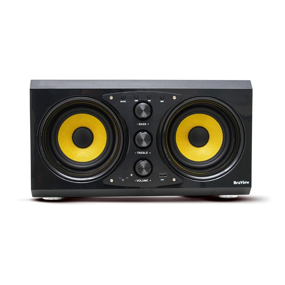 Caixa De Som Subwoofer 50w Aquarius Pro Sp-a50 Braview