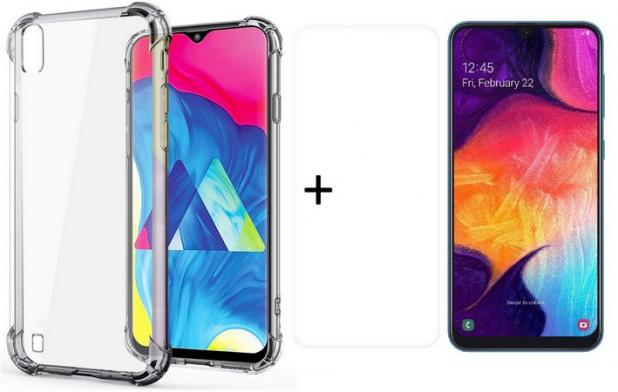 Capa Anti Shock Samsung Galaxy A10 + Película de Vidro