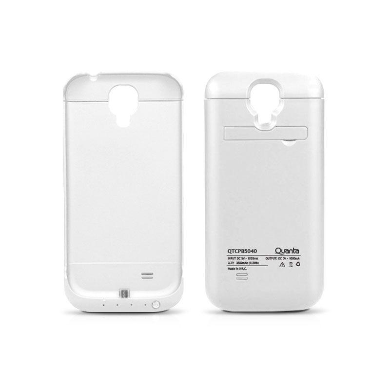 Capa Carregadora Samsung S6 Edge Branca + Pelicula de Vidro