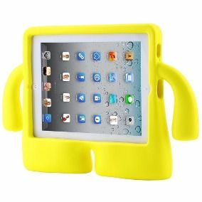 Capa Case Iguy Tablet Apple Ipad 2/3/4 Shock Amarelo