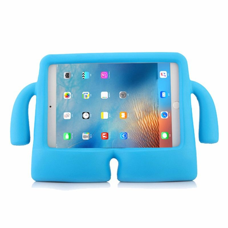 Capa Case Iguy Tablet Apple Ipad 2/3/4 Shock Azul