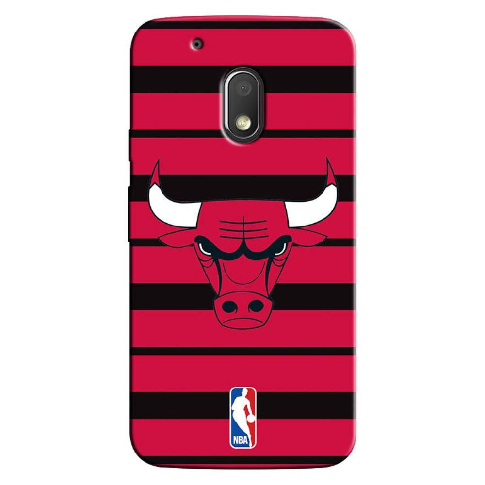 Capa de Celular NBA Moto G4 Plus  Chicago E30