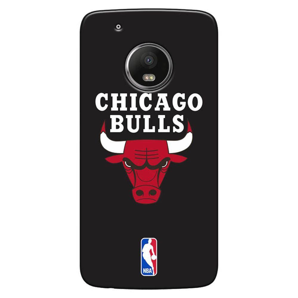 Capa de Celular NBA Moto G5  Chicago Bulls A05