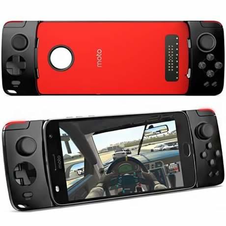 Motorola Moto Snap Gamepad Pto com Vermelho