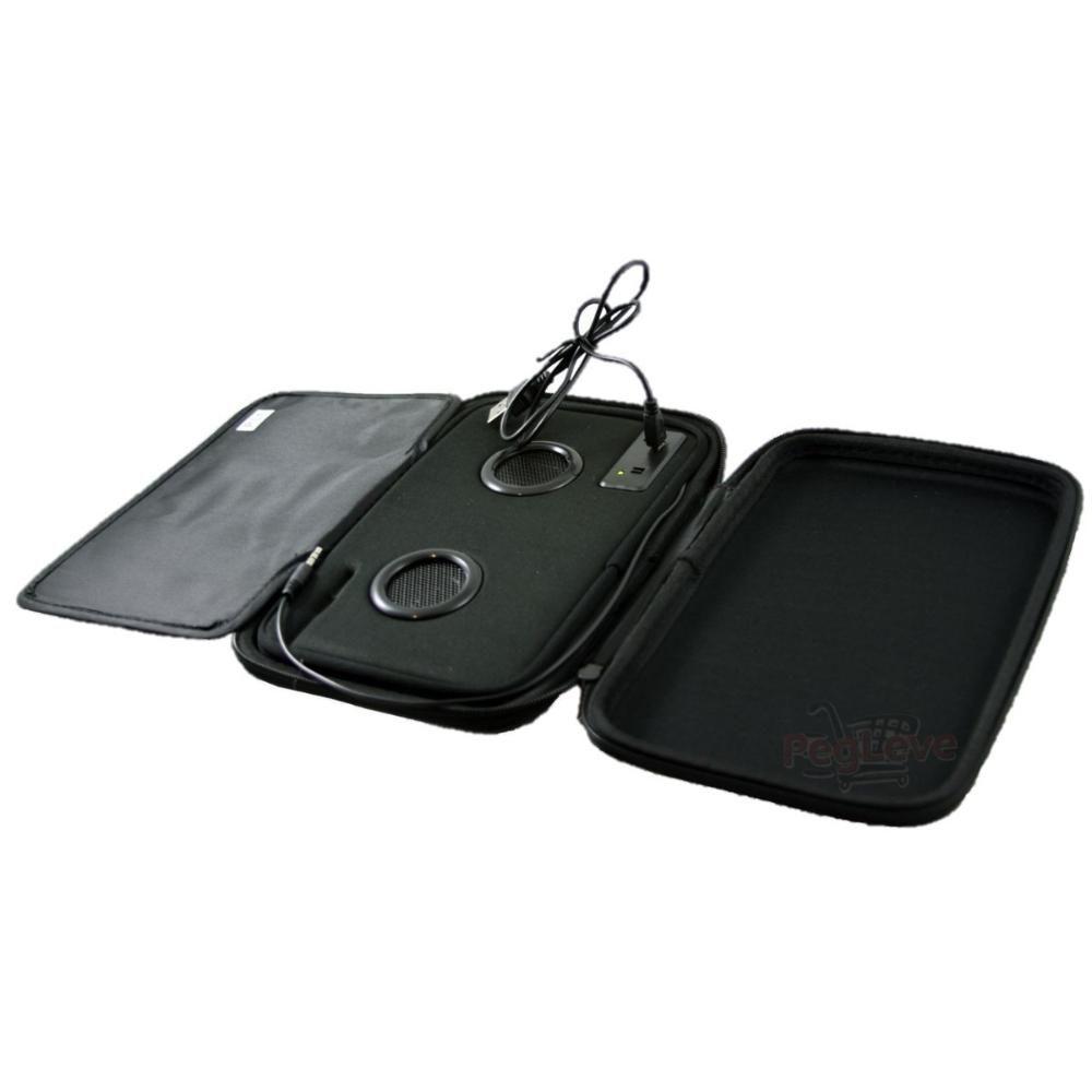 Capa para Tablet 7 polegadas com caixa de som Vermelho