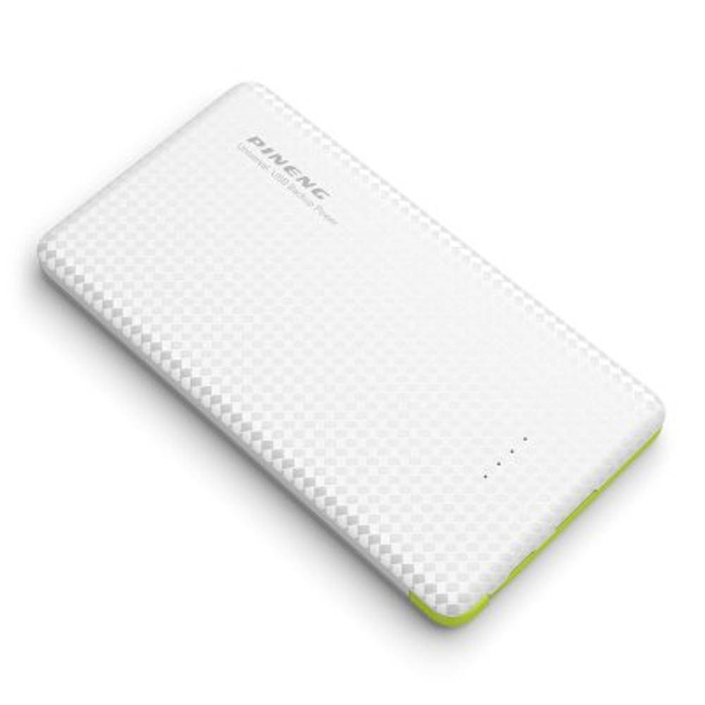 Carregador Portátil Power Bank Pineng 5000mah Original Branco