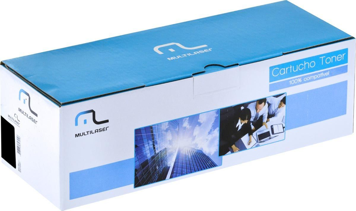 Cartucho Toner Compativel Hp 285a Preto - Ct85a Multilaser