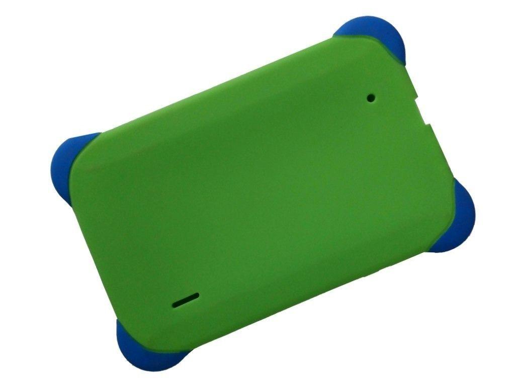 Case de borracha para tablet 7 polegadas Universal Verde
