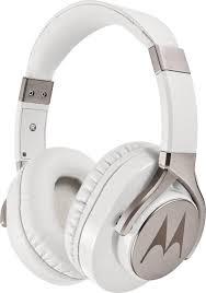 Fone Estereo Com Fio Moto Pulse Max Over Ear Branco Mo-Sh004whi