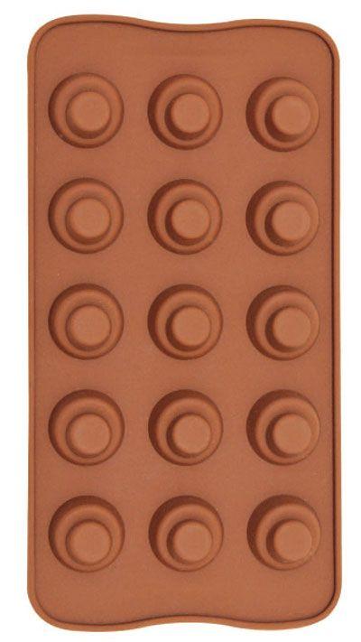 Forma De Silicone Para Chocolate Tradicional Eco-555 + Saco Decorador Confeiteiro